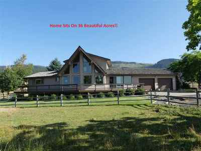 Grangeville Single Family Home For Sale: 315 Fish Hatchery Road
