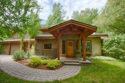 Ketchum Single Family Home For Sale: 166 Bordeaux