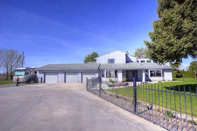 Nampa Single Family Home Back on Market: 16935 Midway Road