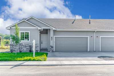 Nampa Condo/Townhouse For Sale: 850 S Banner St