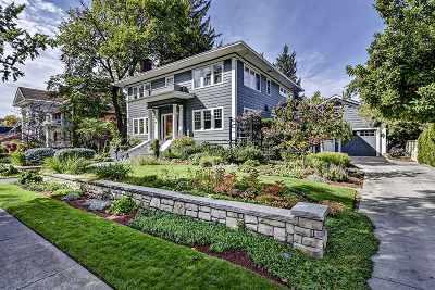 Boise Single Family Home For Sale: 1213 N Harrison Blvd