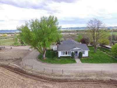 Emmett Single Family Home For Sale: 3833 Sunset Drive