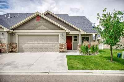 Nampa Condo/Townhouse For Sale: 2547 S Whitetail