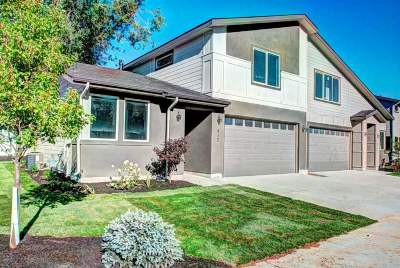 Nampa Condo/Townhouse For Sale: 549 N Escalade Place