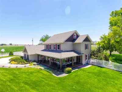 Nampa Single Family Home For Sale: 6627 Bennett Road