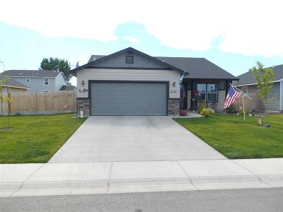 Caldwell ID Single Family Home For Sale: $185,000