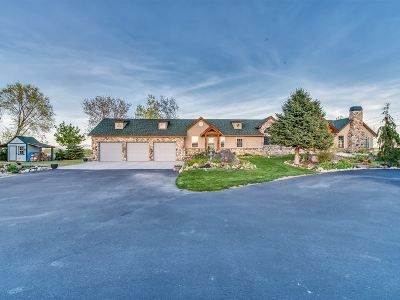 Nampa Single Family Home For Sale: 13302 Lakeside Village Ln