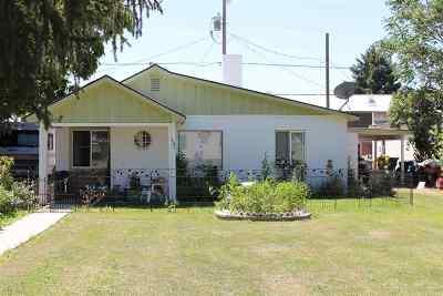 Owyhee County Single Family Home For Sale: 109 W Montana