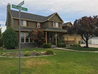 Nampa Single Family Home For Sale: 2004 E Preakness Way