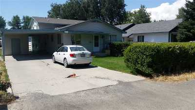 Gooding Single Family Home For Sale: 1025 Wyoming