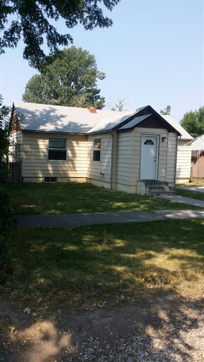 Gooding Single Family Home For Sale: 139 Wyoming