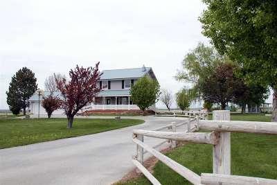 Filer Single Family Home For Sale: 2436 E 4300 N.