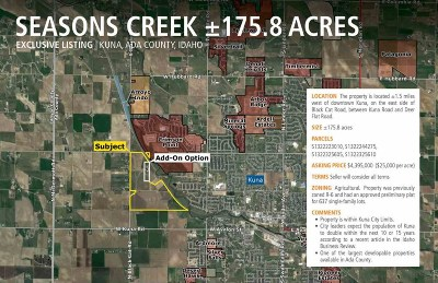 Kuna Residential Lots & Land For Sale: 1206 N Black Cat