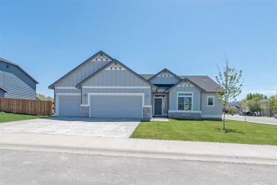Boise, Meridian, Nampa, Eagle, Caldwell Single Family Home For Sale: 15698 Bridgeton Ave.