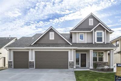 Nampa Single Family Home Back on Market: 10461 Baker Lake
