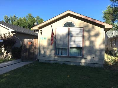 Boise Single Family Home New: 2030 N 33rd St.