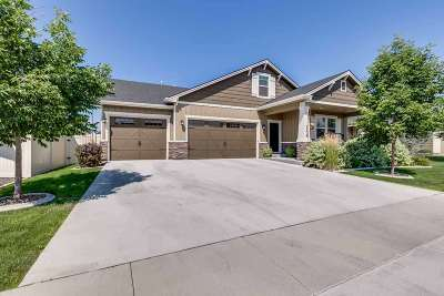 Meridian Single Family Home For Sale: 1136 W Woodbury Dr