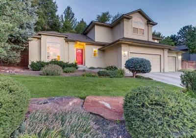 Boise Single Family Home For Sale: 1107 E Hearthstone Drive