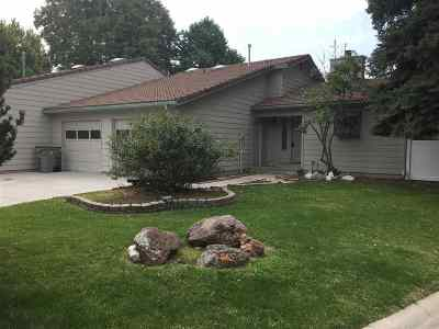 Boise Condo/Townhouse Back on Market: 5751 W Fortress Ct