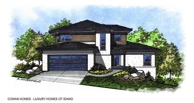 Boise, Eagle, Garden City, Kuna, Meridian, Middleton, Nampa, Star, Caldwell Single Family Home For Sale: 1764 N Mockbee Place