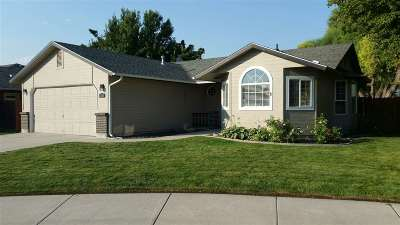 Meridian Single Family Home For Sale: 1227 E Time Zone Dr