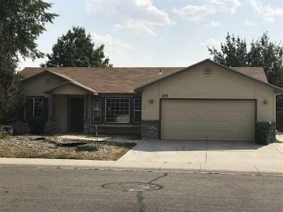 Meridian Single Family Home For Sale: 419 E Sedgewick