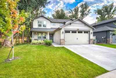 Boise, Eagle, Meridian Single Family Home For Sale: 3811 W Magnolia Ln