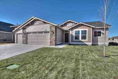 Nampa Single Family Home New: 16779 N Clover Valley
