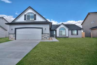 Nampa Single Family Home New: 16783 N Clover Valley