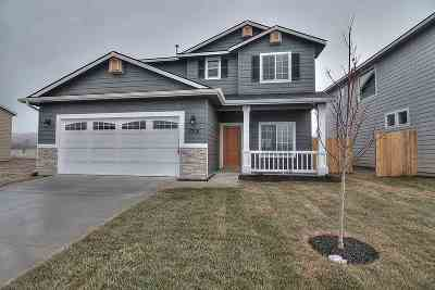 Nampa Single Family Home New: 16747 N Clover Valley