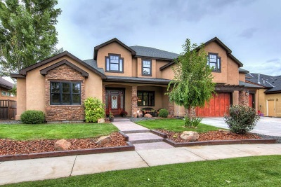 Boise Single Family Home For Sale: 12163 N Upper Ridge Pl