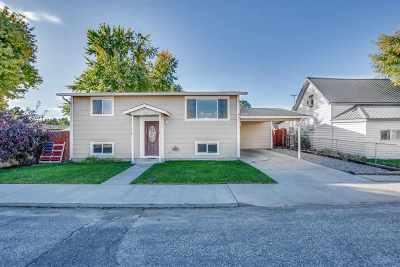 Emmett Single Family Home For Sale: 911 E 3rd St