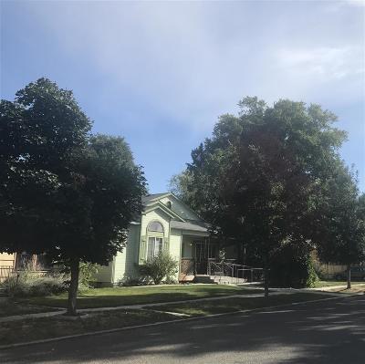 Boise Single Family Home Back on Market: 1212 Longmont