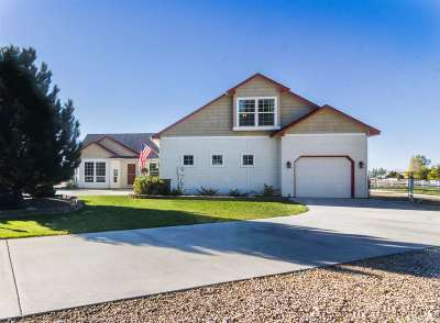 Nampa Single Family Home For Sale: 6817 E. Bay Horse Ln.