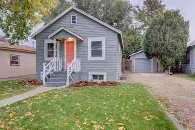 Nampa Single Family Home Back on Market: 908 6th N.