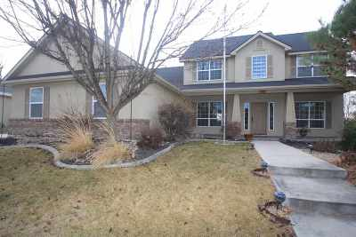 Meridian Single Family Home For Sale: 695 W Christopher St.