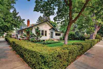 Boise Single Family Home For Sale: 1002 E Warm Springs Ave