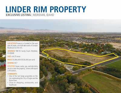 Meridian Residential Lots & Land For Sale: W Sandy Ct