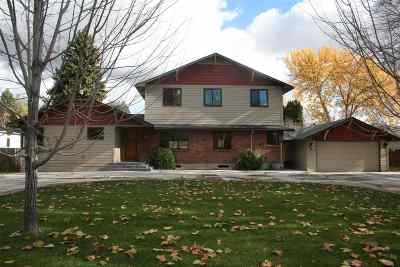 Boise ID Single Family Home For Sale: $750,000