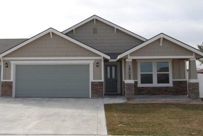 Nampa Single Family Home New: 7957 E Bunker Hill St.