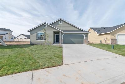 Nampa Single Family Home Back on Market: 8334 E Rathdrum Dr.