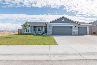 Nampa Single Family Home Back on Market: 8321 E Rathdrum Dr.