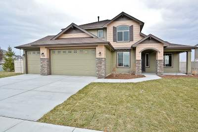 Meridian Single Family Home New: 1328 W Bear Track Dr.