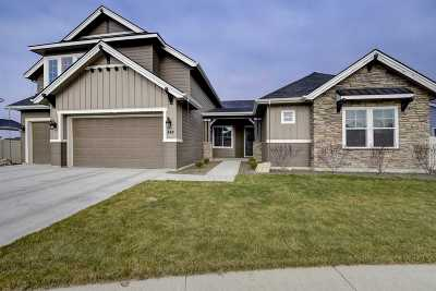 Meridian Single Family Home For Sale: 842 W Bear Track Ct.
