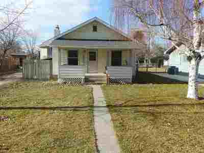Kimberly Single Family Home For Sale: 329 S Birch St