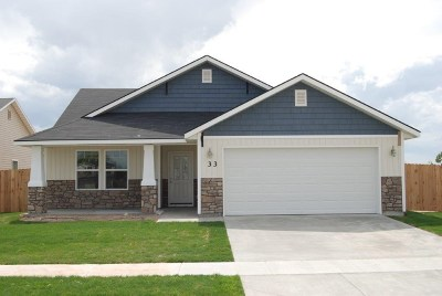 Nampa Single Family Home For Sale: 3606 E Holly Ridge Dr.