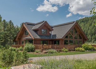 Ketchum Single Family Home For Sale: 13576 State Highway 75