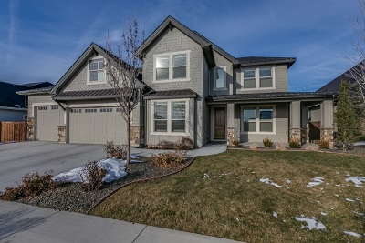 Meridian Single Family Home For Sale: 3384 W Star Hollow Drive