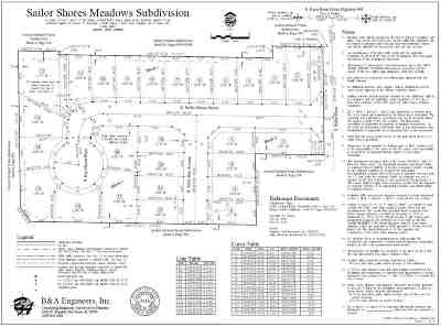 Residential Lots & Land For Sale: 1092 E. Sailer Shores Way