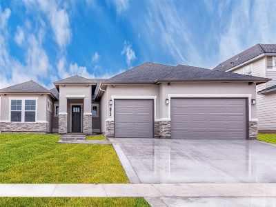 Meridian Single Family Home For Sale: 873 E Crest Ridge Dr.